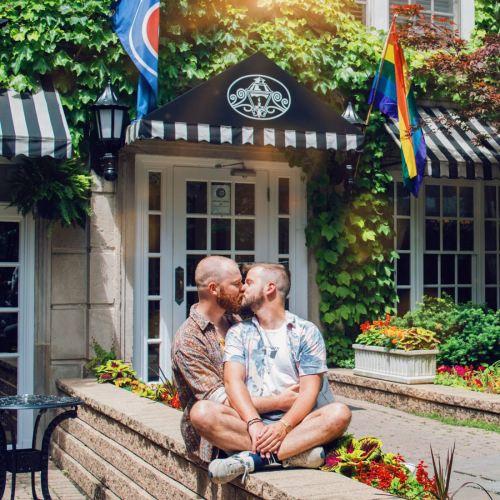 Gay-friendly Best Western Plus Hawthorne Terrace Hotel Boystown © Coupleofmen.com