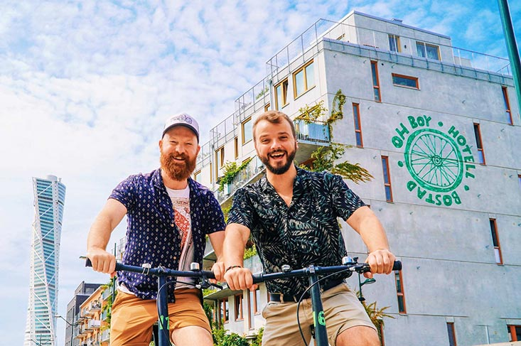 Gay-friendly Ohboy Bike Hotel in Malmö, Sweden | Review