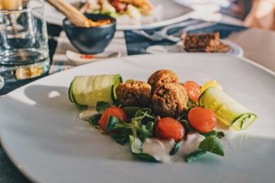 Vegetarian starter especially for Daan © Coupleofmen.com