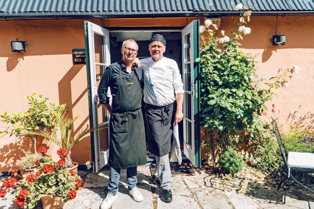 Janne & Peter, proud gay owners of Gay-friendly Karnelund Krog &Rum © Coupleofmen.com