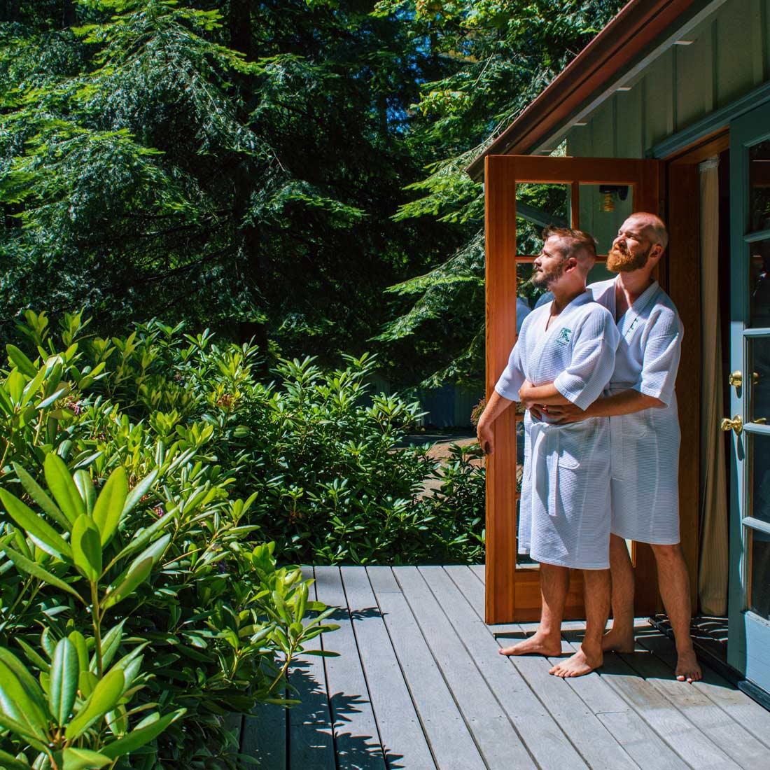 Good morning from Steamboat Inn © Coupleofmen.com