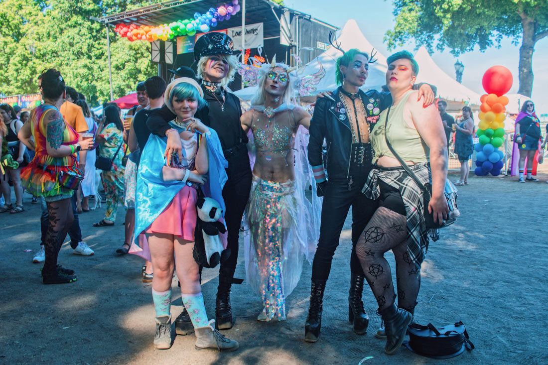 Beautifully dressed queer and LGBTQ+ people from all around the world © Coupleofmen.com