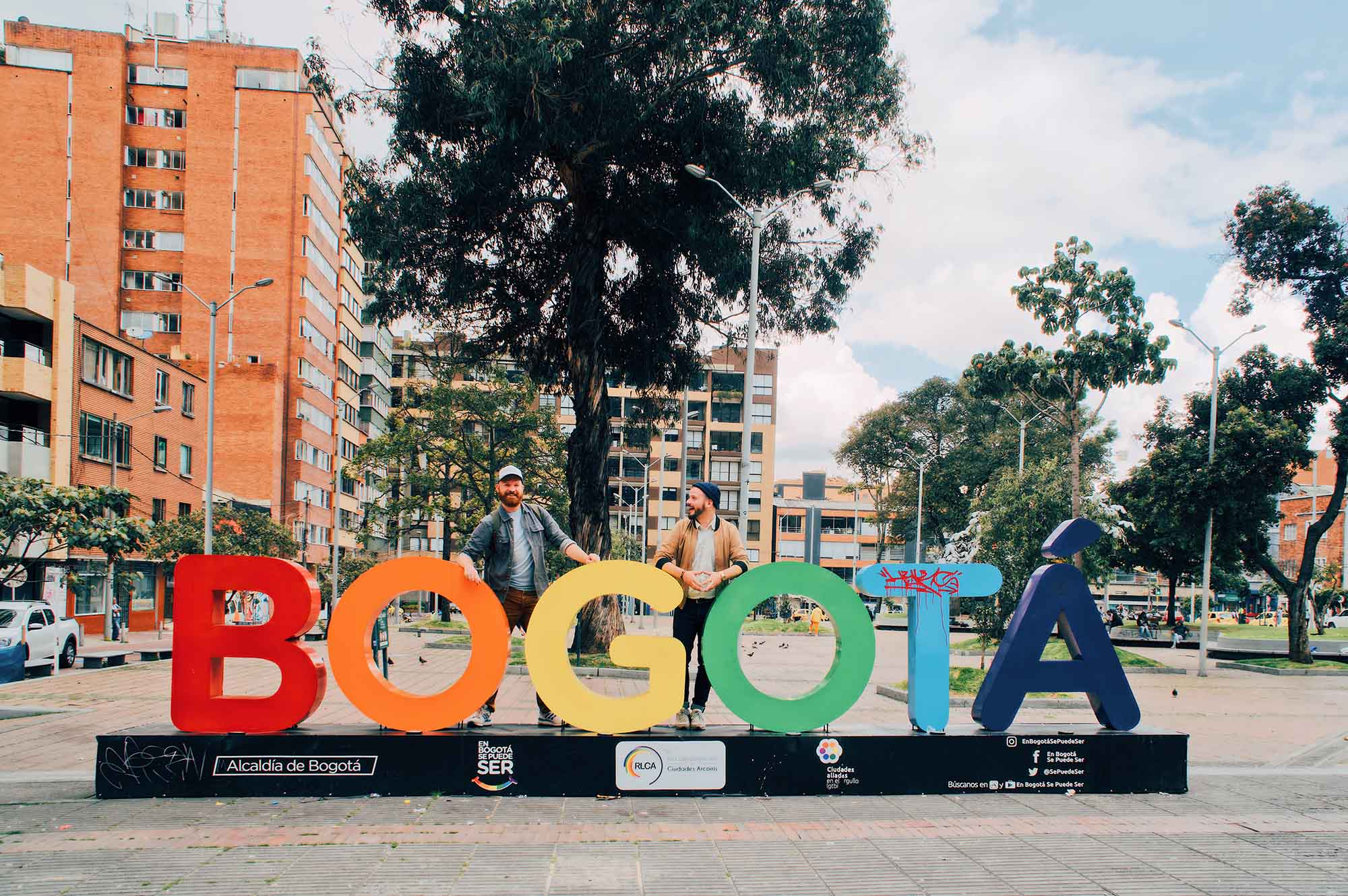 Gay Bogotá Travel Journal - Colombia by Karl & Daan © coupleofmen.com