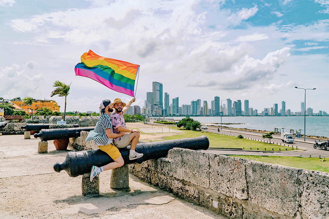 Gay Travel Guide Cartagena, Colombia by Karl & Daan from Couple of Men Gay Travel Blog © coupleofmen.com