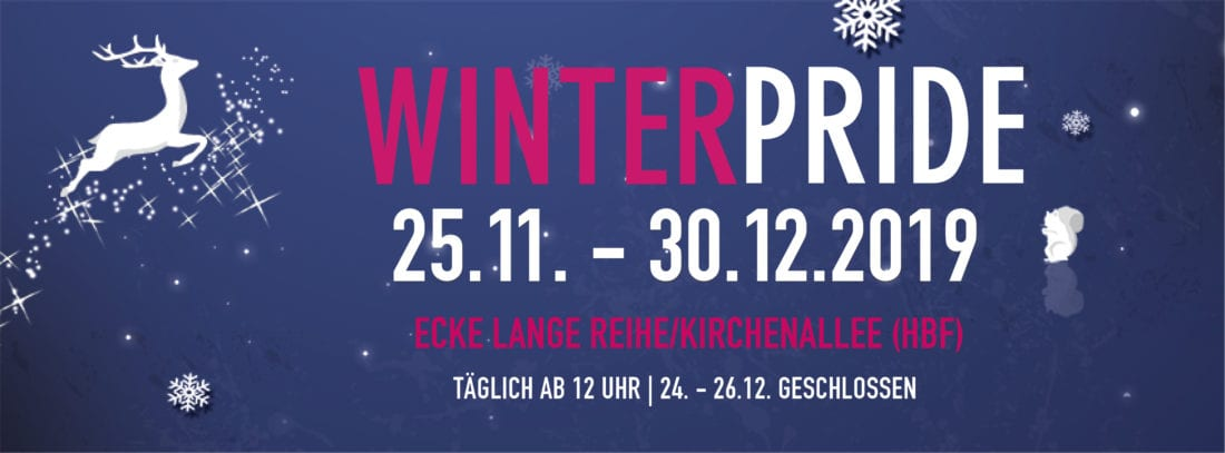 Winter Pride Hamburg | Gay Christmas Markets in Germany 2019 © Winter Pride Hamburg
