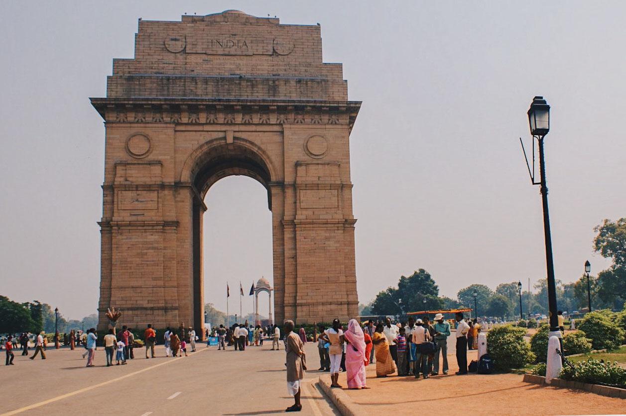 Gay Reise Indien The Gate of India in New Delhi © Coupleofmen.com