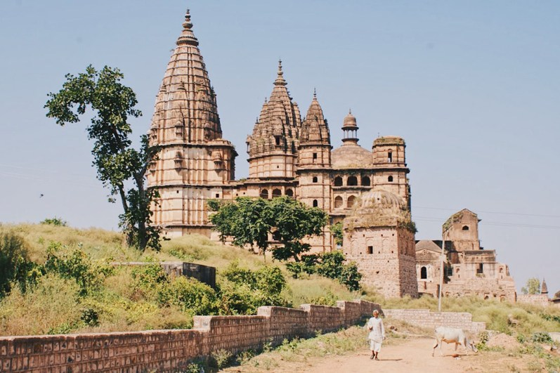 Karl took some amazing shots of the surroundings of Orchha © Coupleofmen.com