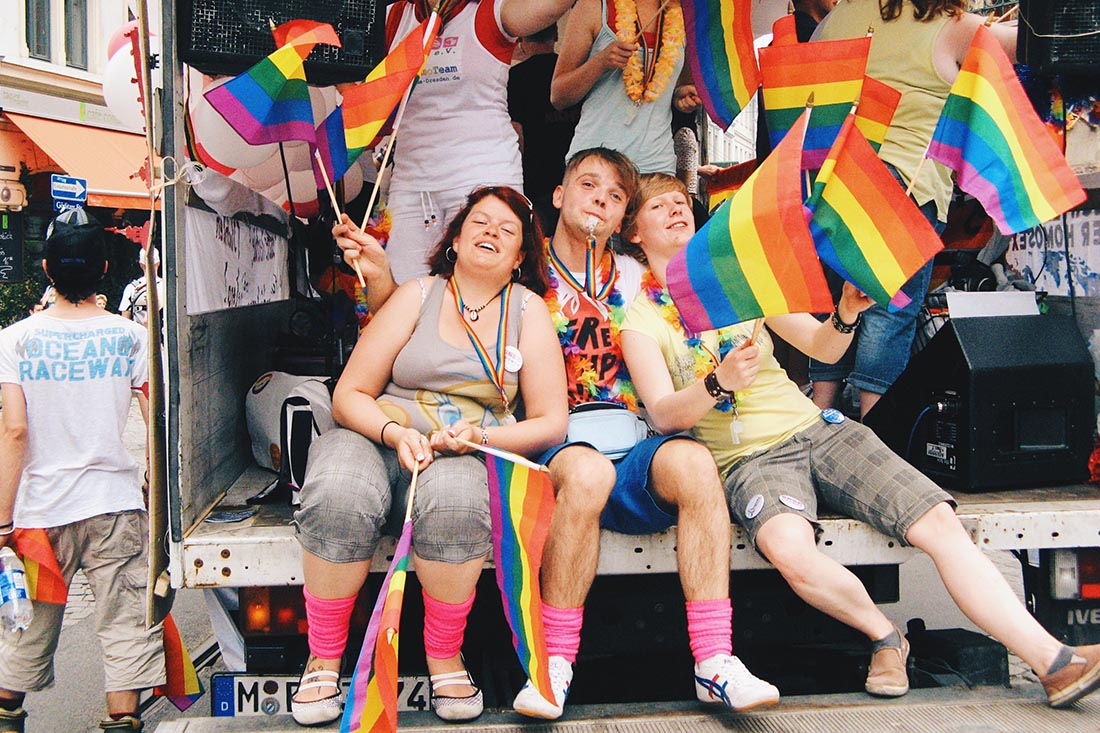 Karl's last Dresden Pride before he moved to Berlin and Amsterdam © Coupleofmen.com