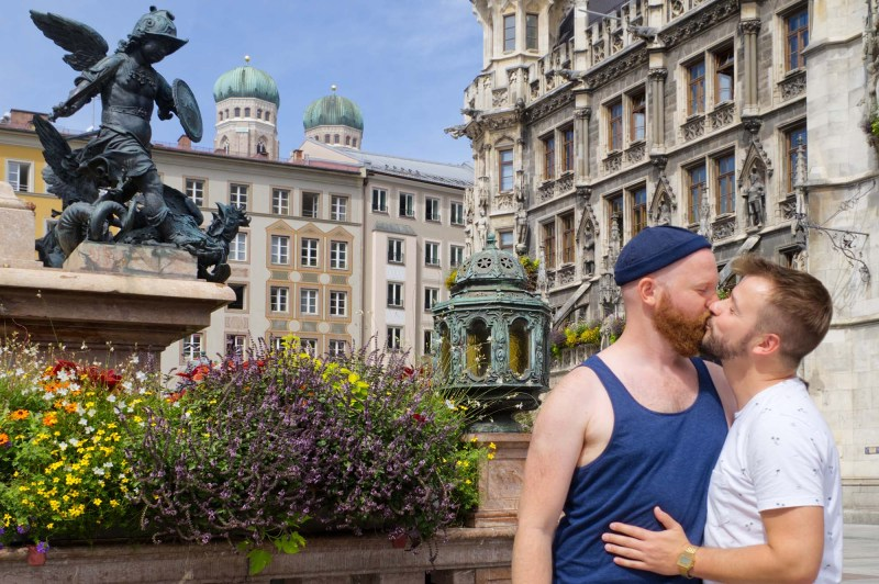 Munich Gay City Trip Gay Munich Travel Guide © Coupleofmen.com So happy to finally visit the Bavarian capital city Munich © Coupleofmen.com