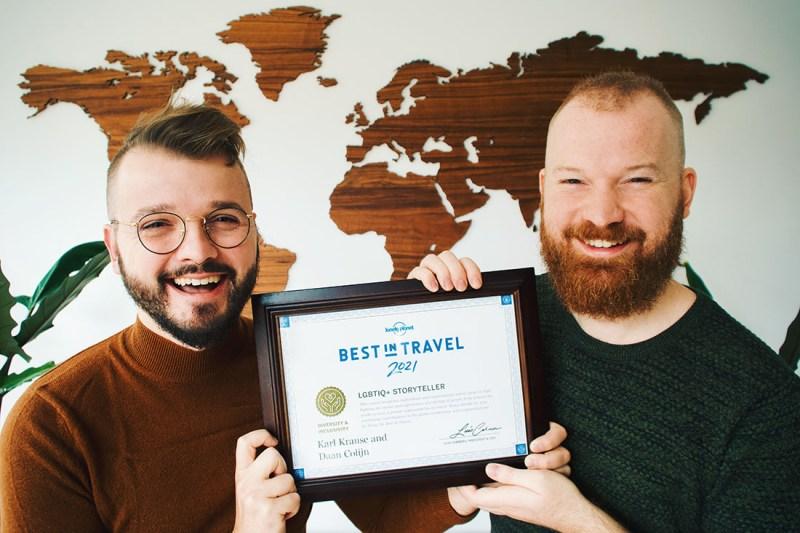 Award-winning Gay Travel Blog Couple of Men © Coupleofmen.com