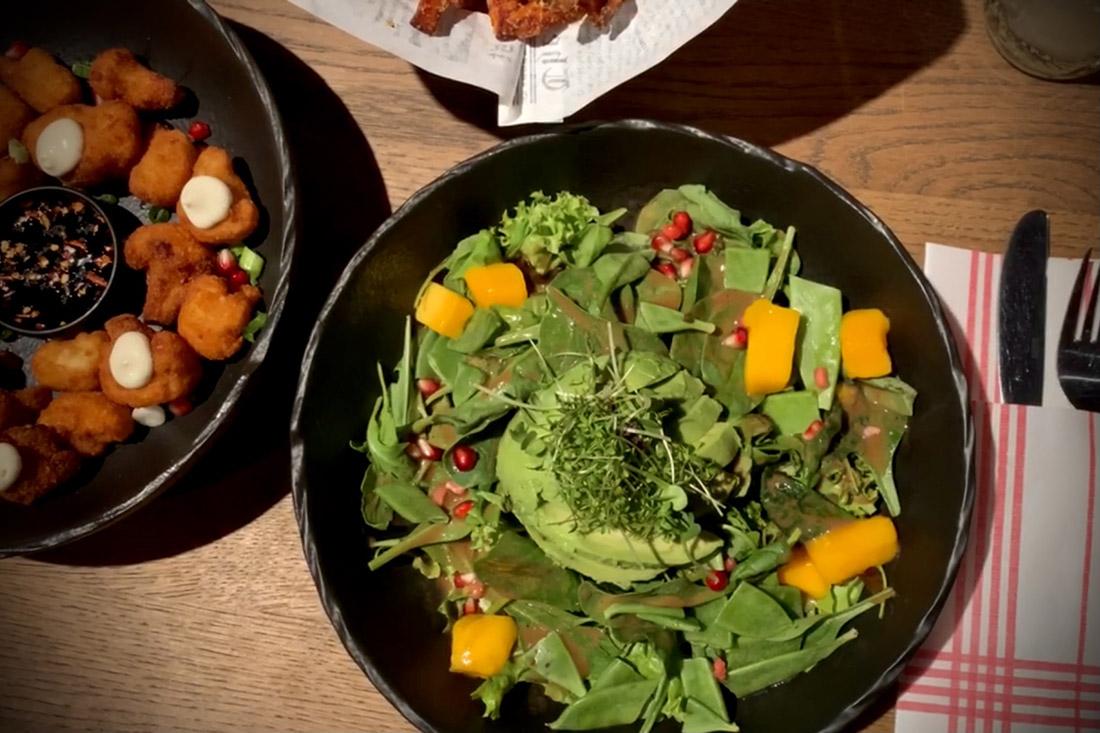 Vegetarian Menu for Daan at SZENE Lokal Salzburg © Coupleofmen.com