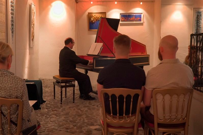 rediscover Gay Salzburg Enjoying a Harpsichord Residence Concert in Salzburg © Coupleofmen.com
