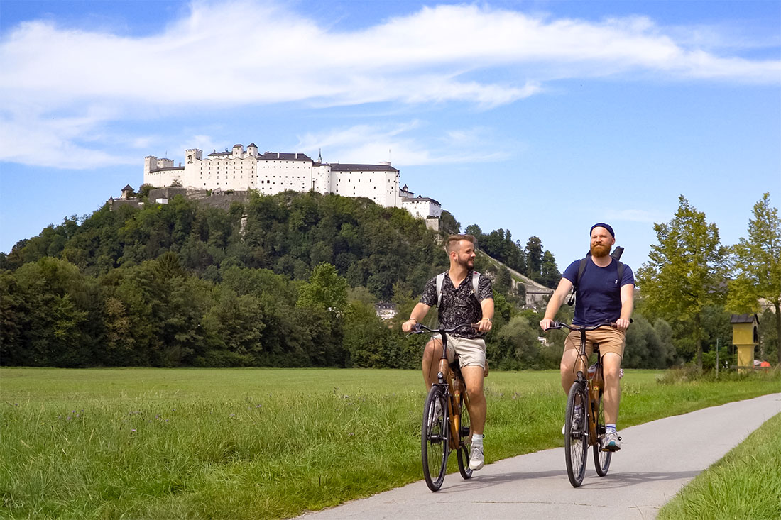 rediscover Gay Salzburg Our Gay Couple Summer Bike Tour to Hellbrunn Palace © Coupleofmen.com