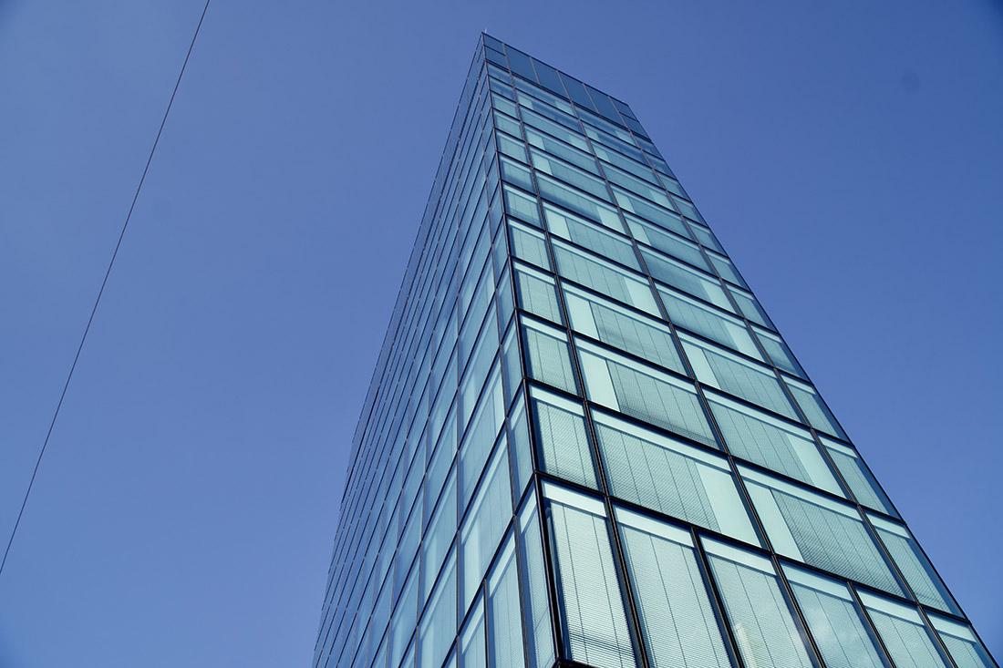 Glass Facade of the Gay-friendly Arte Hotel Salzburg © Coupleofmen.com