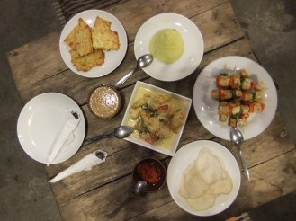 Results of our cookery course, Indonesia