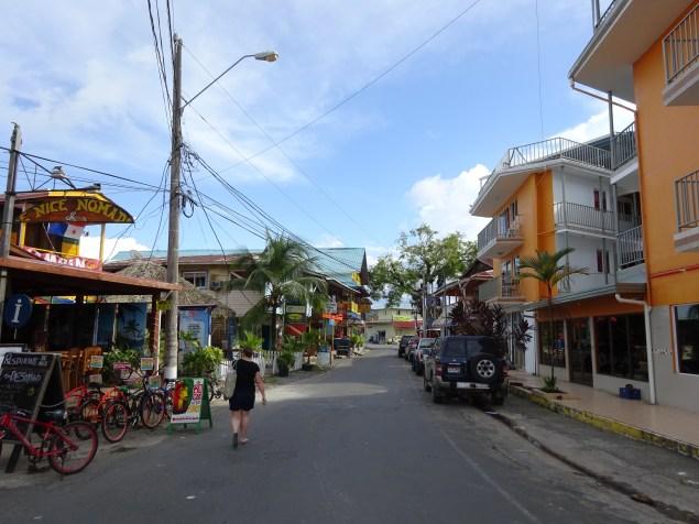Bocas main street