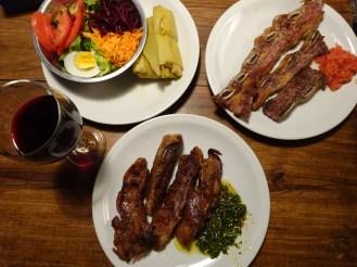 Supreme steak, Argentina