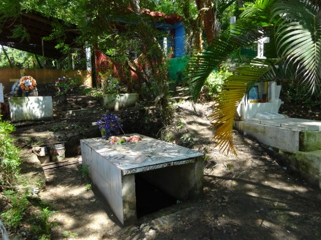 Jungle cemetery