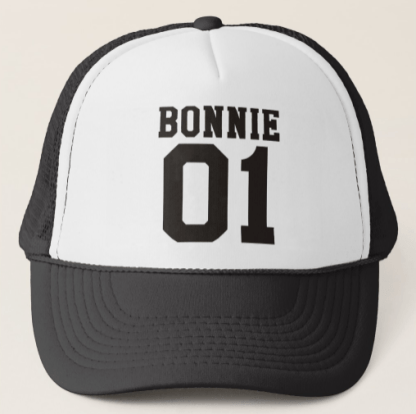 Bonnie and Clyde Trucker Hat