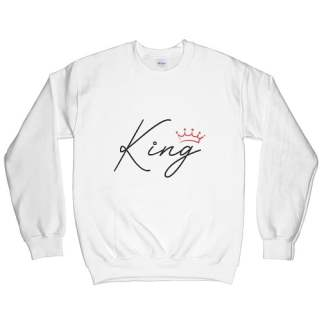 Red Crown King Sweatshirt