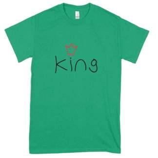 Irish Green King T-Shirt
