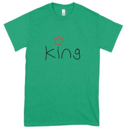 Irish Green King T-Shirt