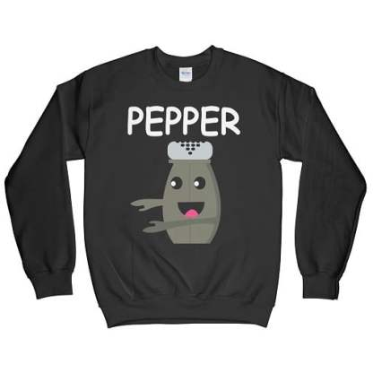 Pepper Cute Couple Sweatshirts