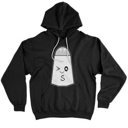 Salt Couple Hoodie - Salt and Pepper T Shirt