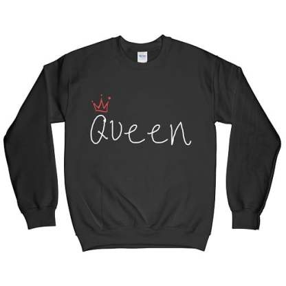Ugly Whites Queen Sweatshirt