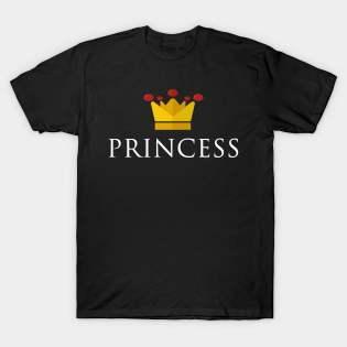 Prince Princess Couple Shirts