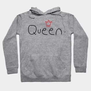 Crown King Queen Hoodies