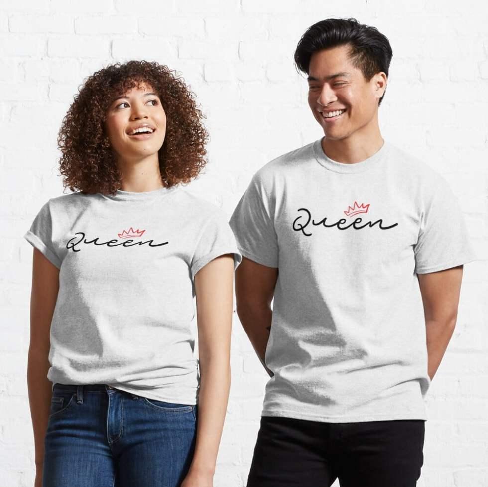 Best King Queen Couple T-Shirt
