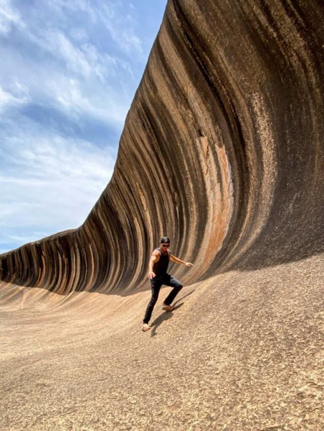 couples coordonne esperance western australia road trip michael at wave rock laird hamilton teahupoo wave