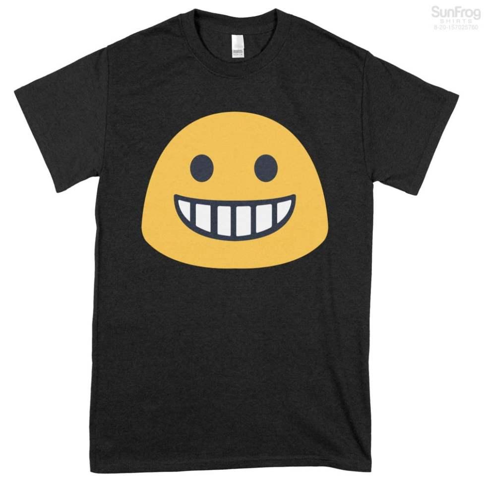 Grinning Emoji Shirts