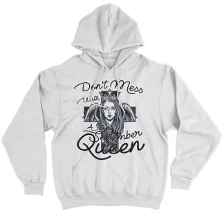 Don't Mess With A September Queen Hoodie