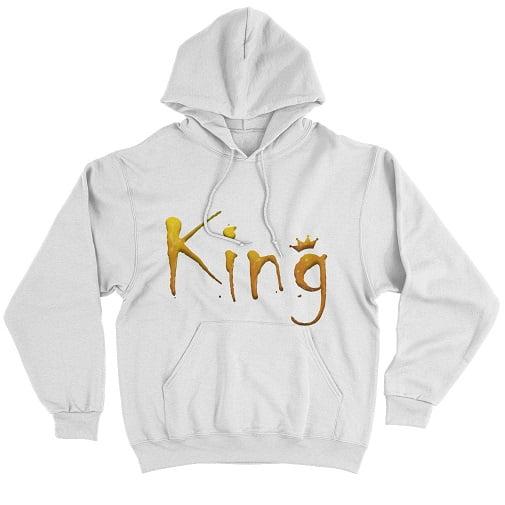 Yellow King Sweatshirt Hoodie
