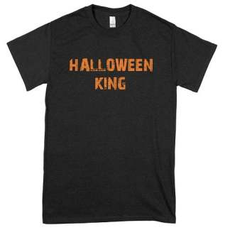Orange Halloween King T-Shirt