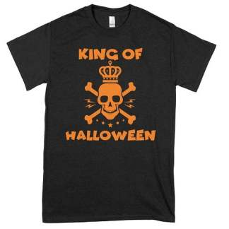 King Of Halloween T Shirts