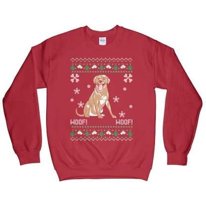 Labrador Retriever Ugly Christmas Sweatshirt
