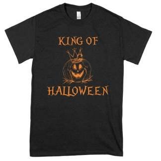 Pumpkin King Of Halloween T-Shirt