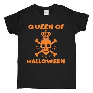 Queen Of Halloween T Shirts