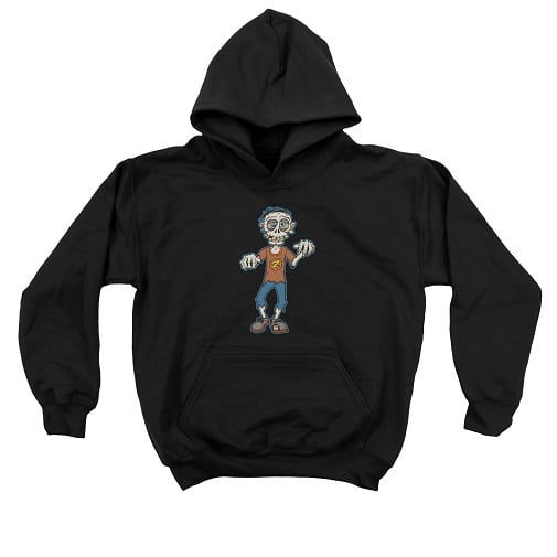 Kids Zombie Shirt - Zombie Kids Hoodie
