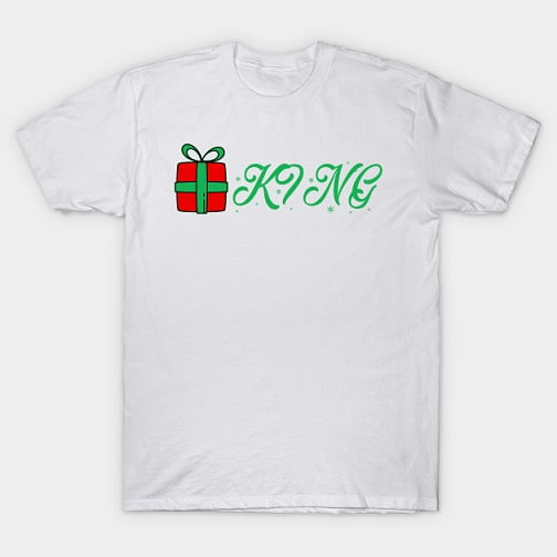 Christmas Gift King Queen Shirts