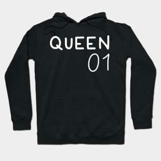 king and queen 01 hoodies