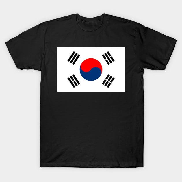 Flag of Republic Of Korea T-Shirt
