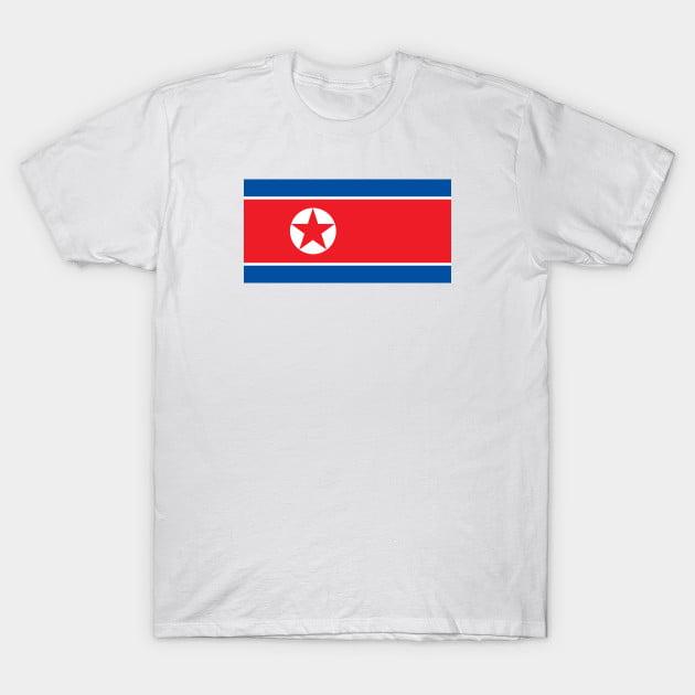 Flag of Democratic People s Republic Of Korea T-Shirt