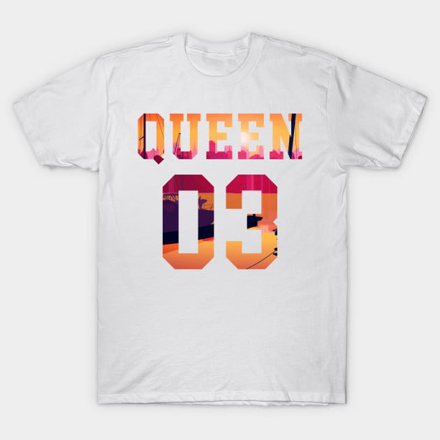 King Queen Together Since 2003 Shirts