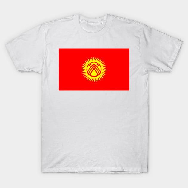 Flag of Kyrgyzstan T-Shirt