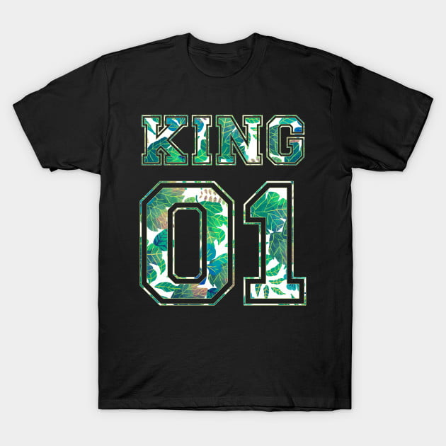 Green Leaf King and Queen 01 Shirts