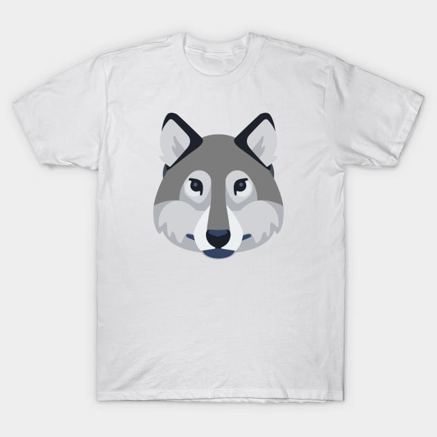 Wolf Dog T-Shirt - Animal Shirts